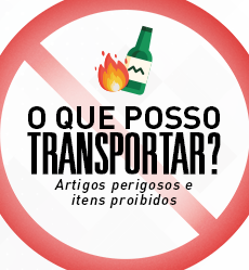 o que posso transportar