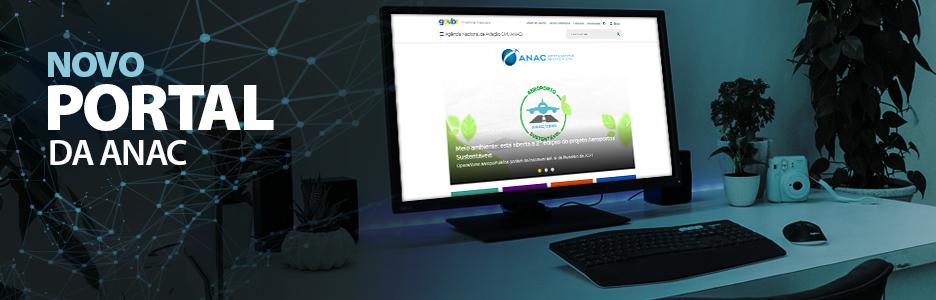 acesse o novo portal da ANAC